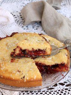 CROSTATA VERSATA ricetta VIDEO velocissima dolce con marmellata