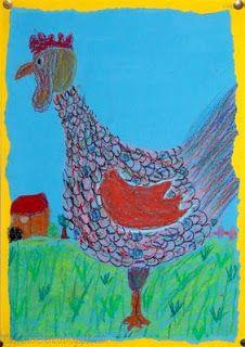 * Knappe kippen! Tekenen en zo: Pasen