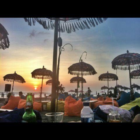 Sunset in Double Six Beach Bali