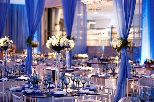 Decoração de Casamento Azul   Blog Internovias
