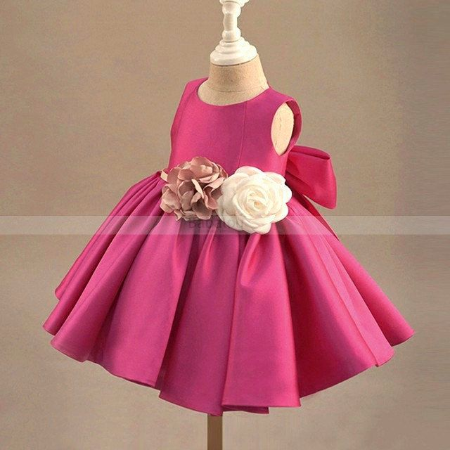 Pink flower girl dress, flower girl dresses, first birthday outfit girl, bridesmaid dresses, baby girl birthday clothes, prom dress, party dress. Available from 3 month until 12 years old. Material: Polyester fiber, Purified cotton lining, tulle mesh, satin. Free shipping.
