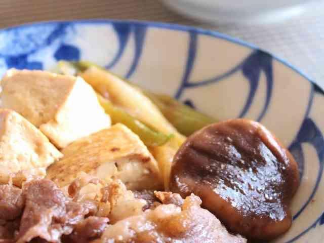 簡単♪肉豆腐の画像