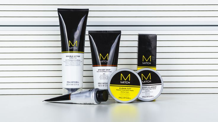 Продукты MITCH - профессиональный уход и стайлинг для мужских волос