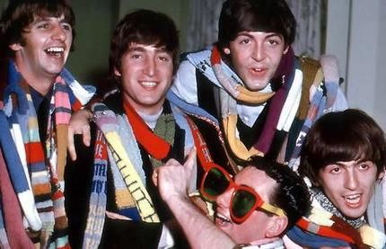 The Beatles on their Australian tour