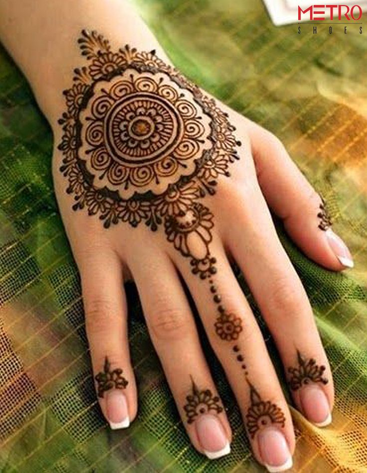 Breathtaking Henna Designs: a common sight duing the festive period.