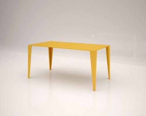 Stoł Yellow Honey. Stoły drewniane na zamówienie http://esencjadesign.pl/stoly-na-wymiar/2529-stol-yellowhoney.html