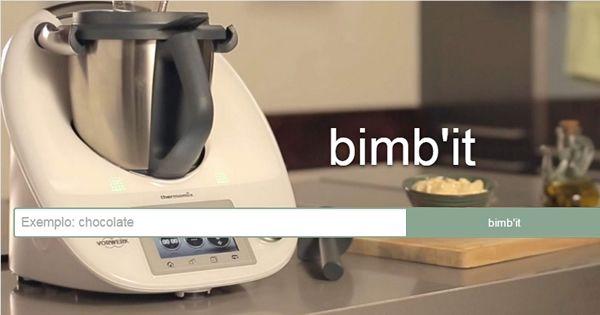 o índice das receitas Bimby