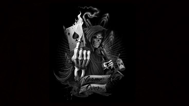 grim reaper wallpaper game over Google Search my