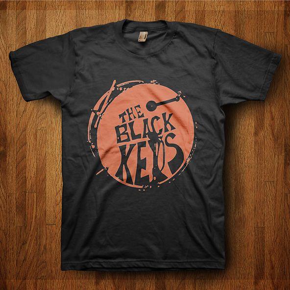 Glastonbury Line Up T-shirts - The Black Keys 2 #glastonbury #festival #fashion #tshirts