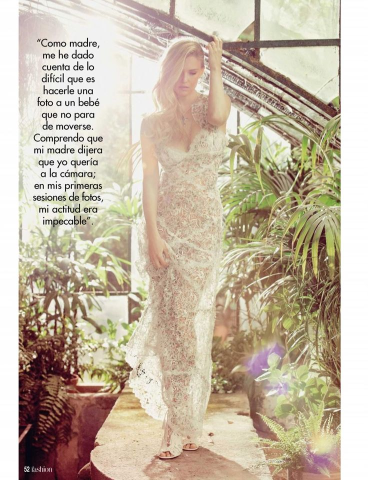 Top model Bar Refaeli is all smiles on the July 2017 cover of Hola! Fashion. Photographed by Valero Rioja, the Israeli model wears a crocheted Desigual jacket with a Stella McCartney lace dress. Bar poses in romantic looks perfect for summertime with the accompanying spread. The blonde beauty shines in a mix of airy dresses, …