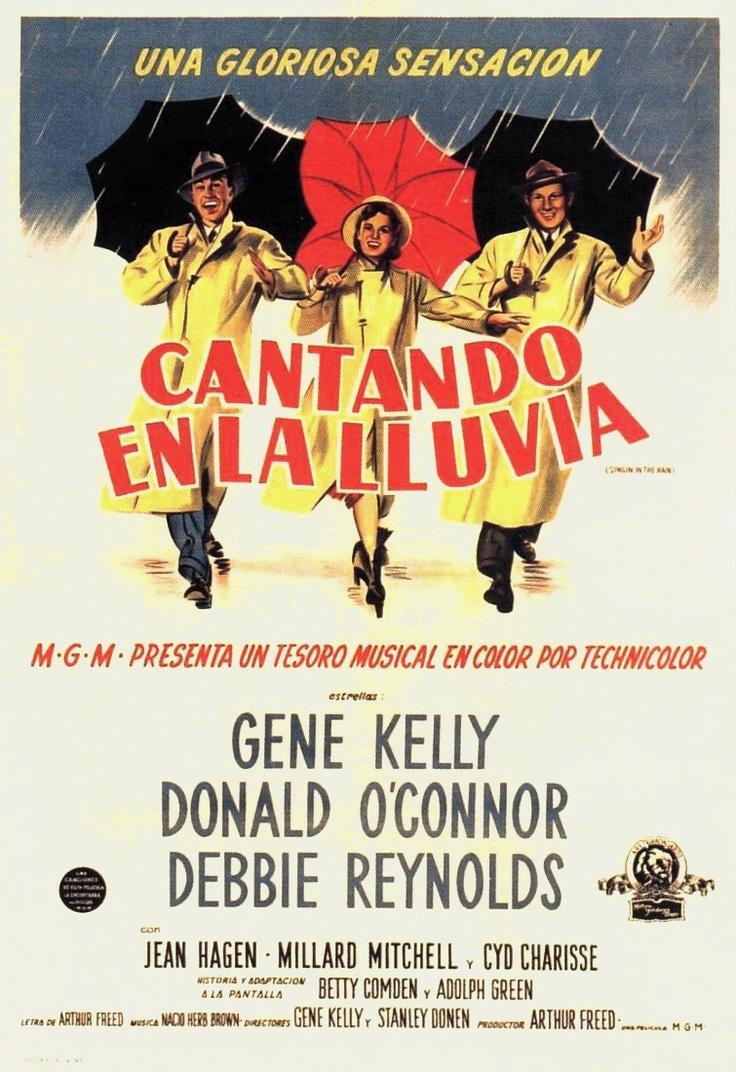 Cantando bajo la lluvia (1952) EEUU. Dir: Stanley Donen  e Gene Kelly. Comedia. Musical. Romance. Cine dentro do cine - DVD CINE 160