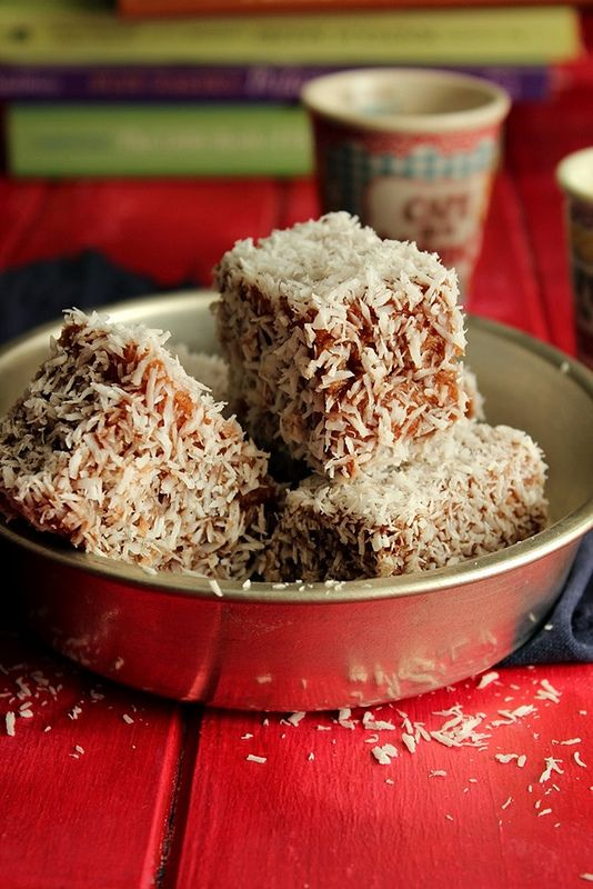 Lamingtons, an Aussie tradition