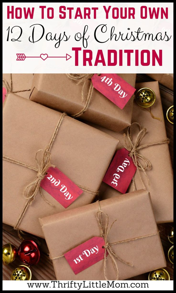 How To Start Your Own 12 Days of Christmas Tradition