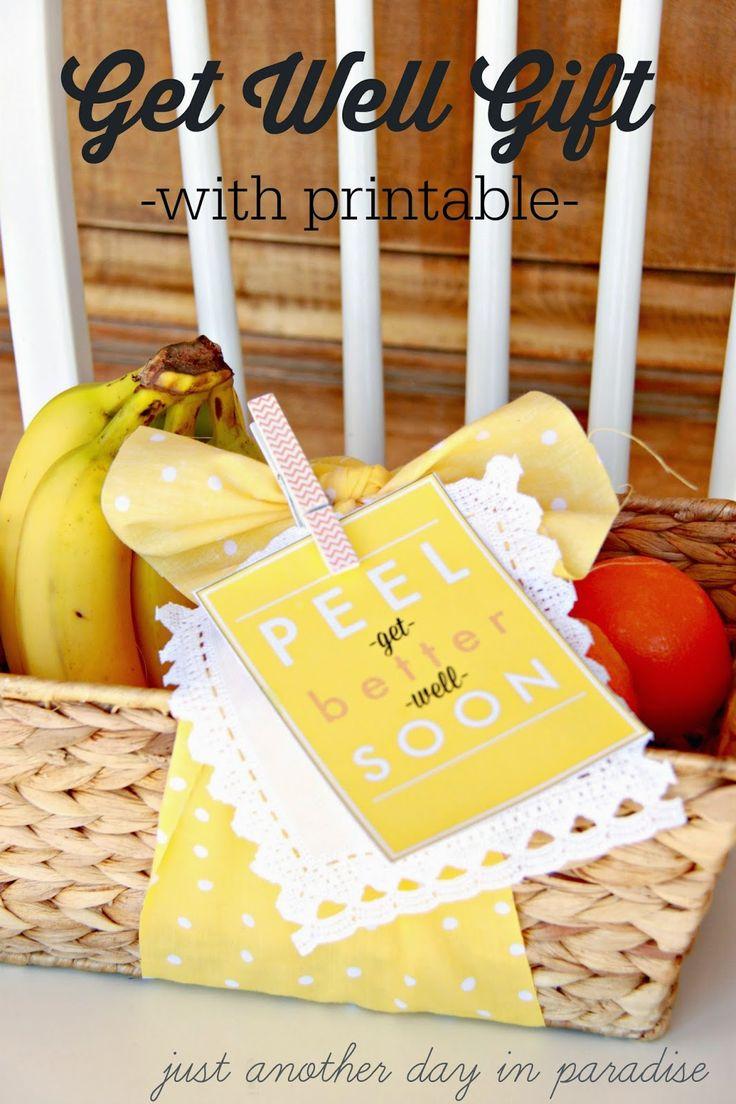 Best 25 healthy gift baskets ideas on pinterest clementine peel better soon get well basket negle Gallery