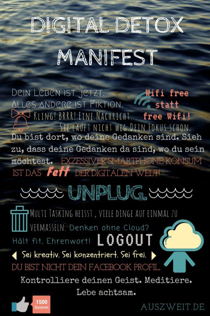 Digital Detox Manifest