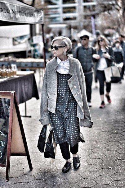 63-летняя Лин Слейтер стала новой иконой стиля