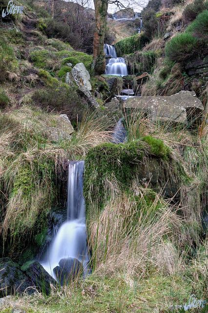 Bronte Falls, Haworth, Yorkshire