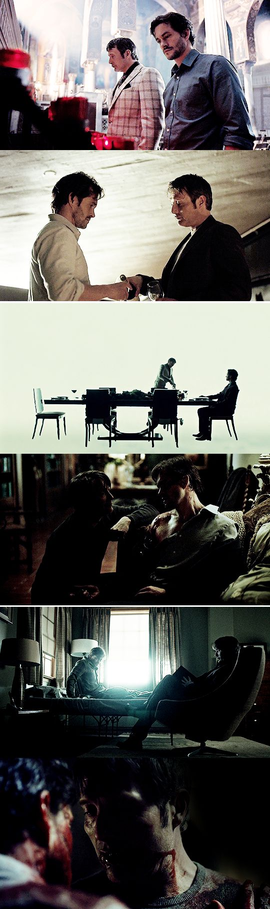 See? This is all I ever wanted for you, Will. For both of us. #hannibal