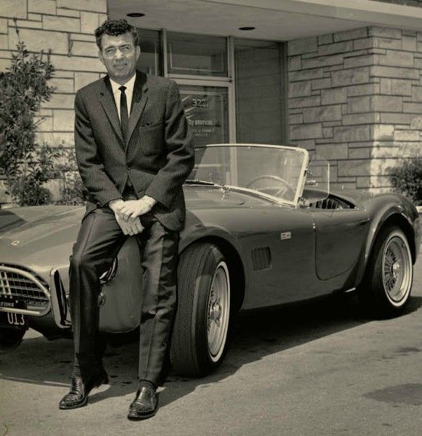 Caroll Shelby (1923-2012) iconic car builder and champion auto racer best known for his Shelby Corbra sports car.