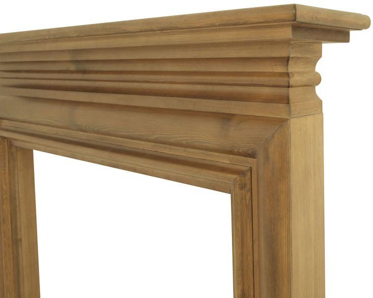 best 25 wooden fireplace surround ideas on pinterest wooden fireplace fireplaces and fireplace mantle