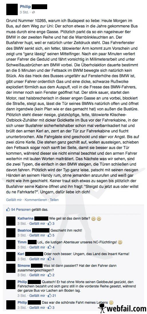 Die lustigen Abenteuer eines NC-Flüchtlings - Facebook Win/Fail des Tages 14.10.2014 | Webfail - Fail Bilder und Fail Videos