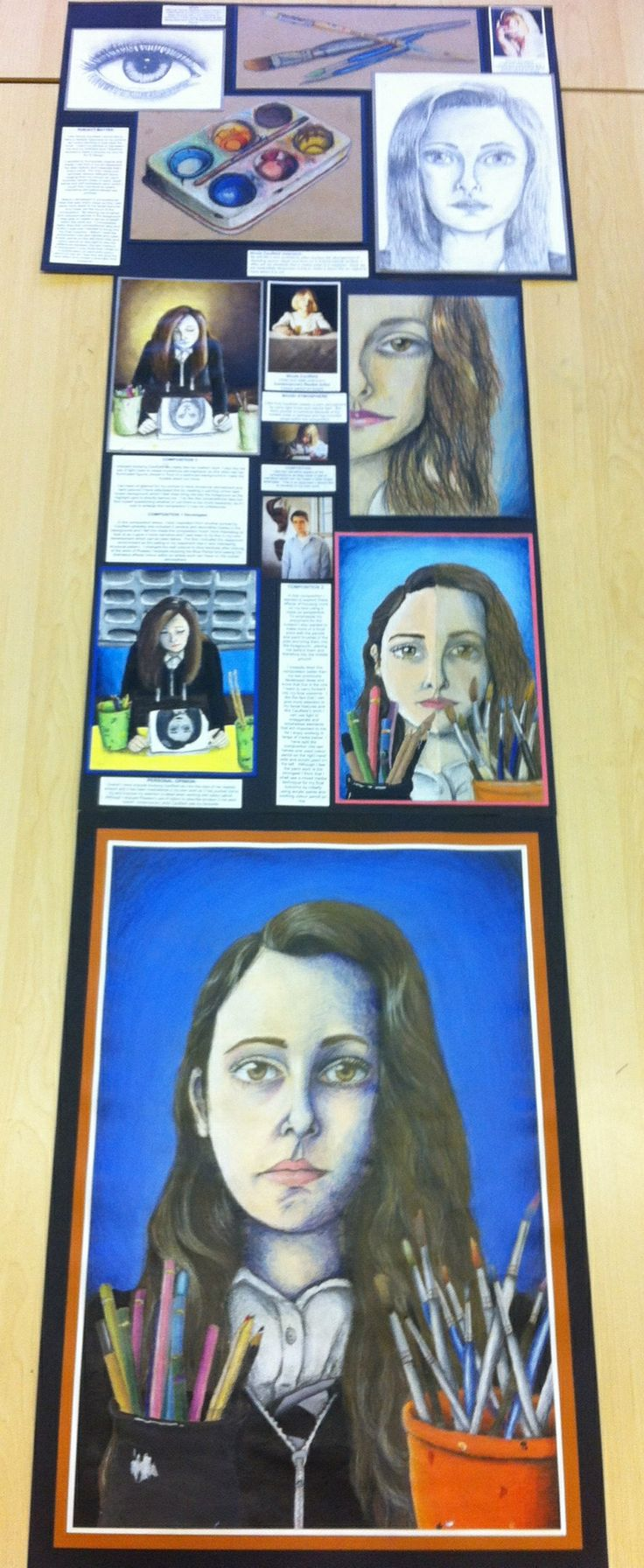 N5 full portfolio (3xA2) Buckhaven HS. A project that shows a consistent theme and clear development of ideas.