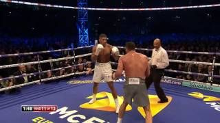 Anthony Joshua Knocks Out Klitschko with Brutal Uppercut  AJ v Wladimir Klitschko
