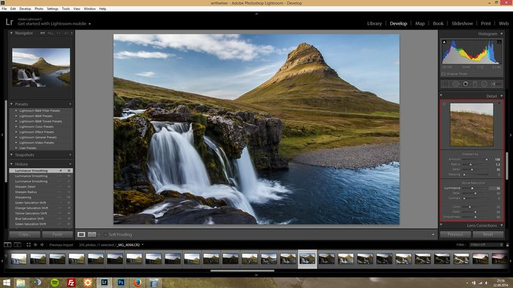 Lightroom is a powerful tool for editing your RAW footage. In this tutorial I'll show you some settings which I'm always using for editing landscape shots.