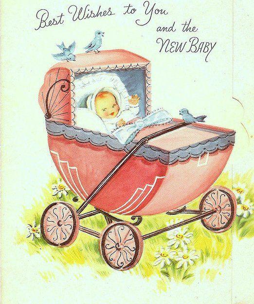 Открытки ребенок в коляске, открыток дому