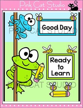 Behavior Chart - Frog Classroom Decor Behavior Clip Chart