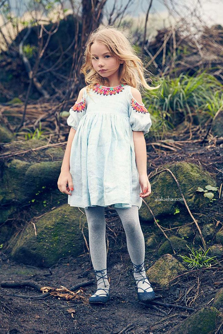 ALALOSHA: VOGUE ENFANTS: New Season FW'17: Nellystella is created imaginative…