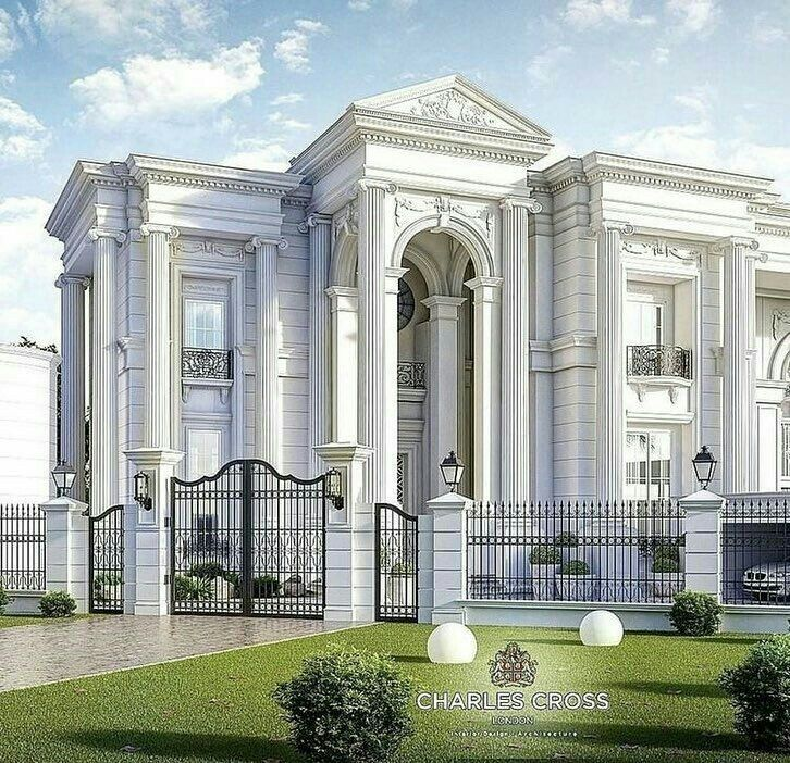 Lil Foxie Hyunjeong Classic House Design Modern Mansion Classic House