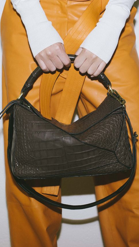 The Puzzle Bag is LOEWE's latest icon.  Now available on loewe.com
