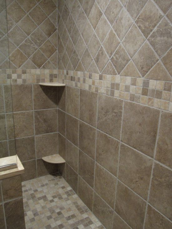 Bathroom Tiles Designs With Highlighters : Best shower tile designs ideas on bathroom