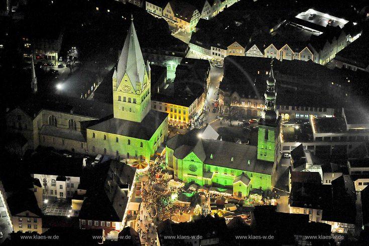 soest | Weihnachtsmarkt am Rathaus, Soest, Nordrhein-Westfalen, Deutschland ...