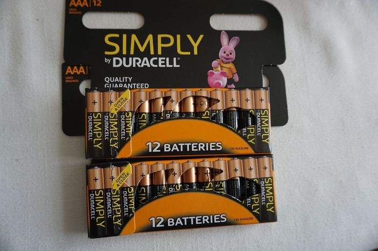24 DURACELL AAA Alkaline Batteries  job lot battery batteries 1.5 V LR03 MN2400
