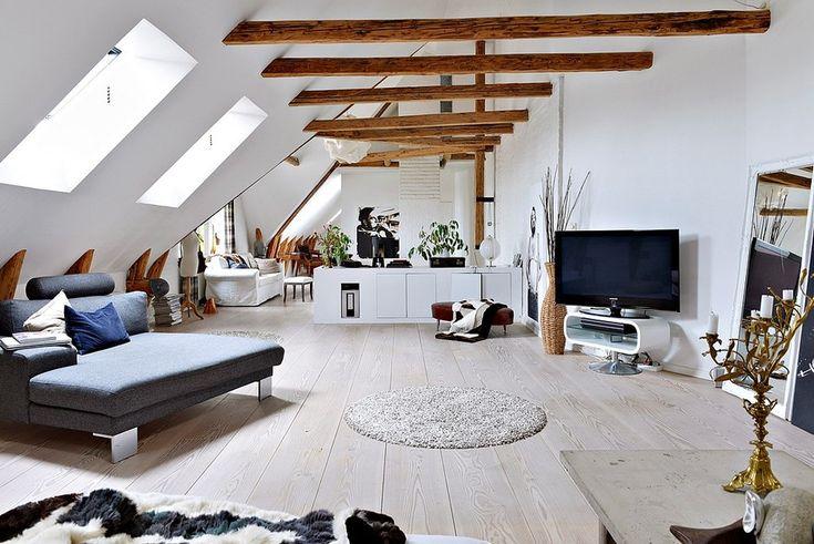 квартира в швеции, скандинавский стиль
