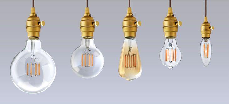 【楽天市場】【フィラメントLED電球「Siphon」エジソン LDF30A】E26 暖系電球色 クリア ガラス レトロ アンティーク …