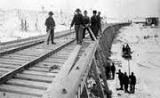 Rail road in Canada