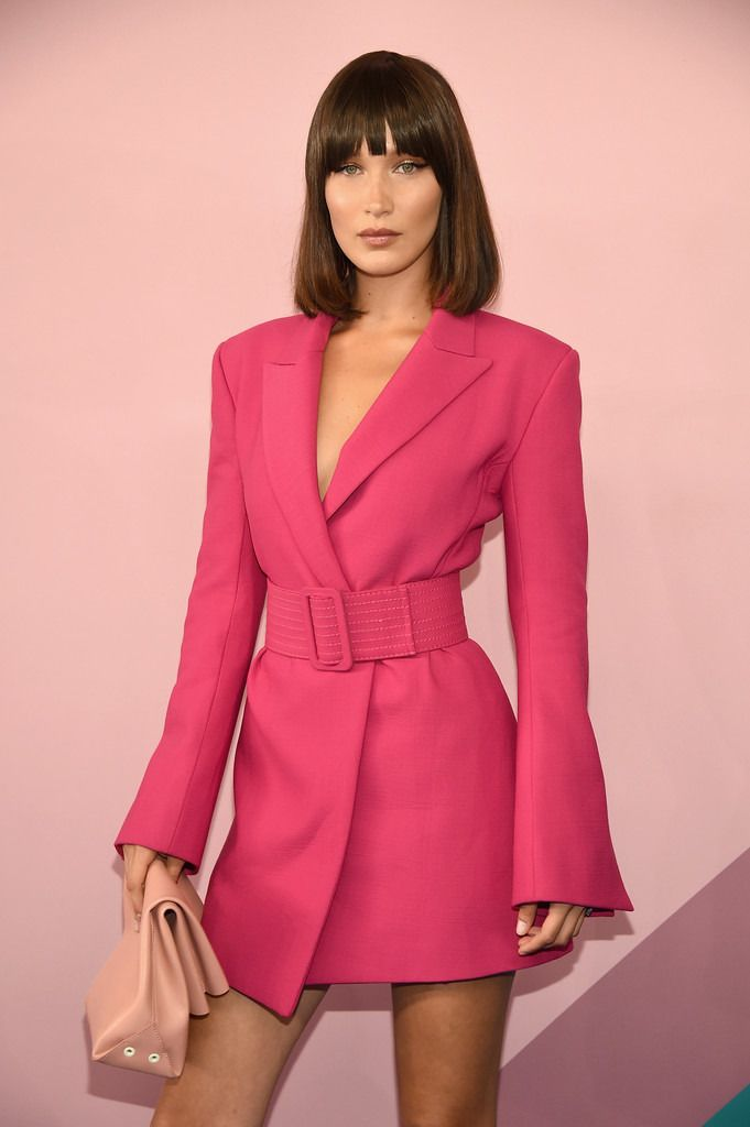 Fashion — Bella Hadid at the 2017 CFDA Awards via...