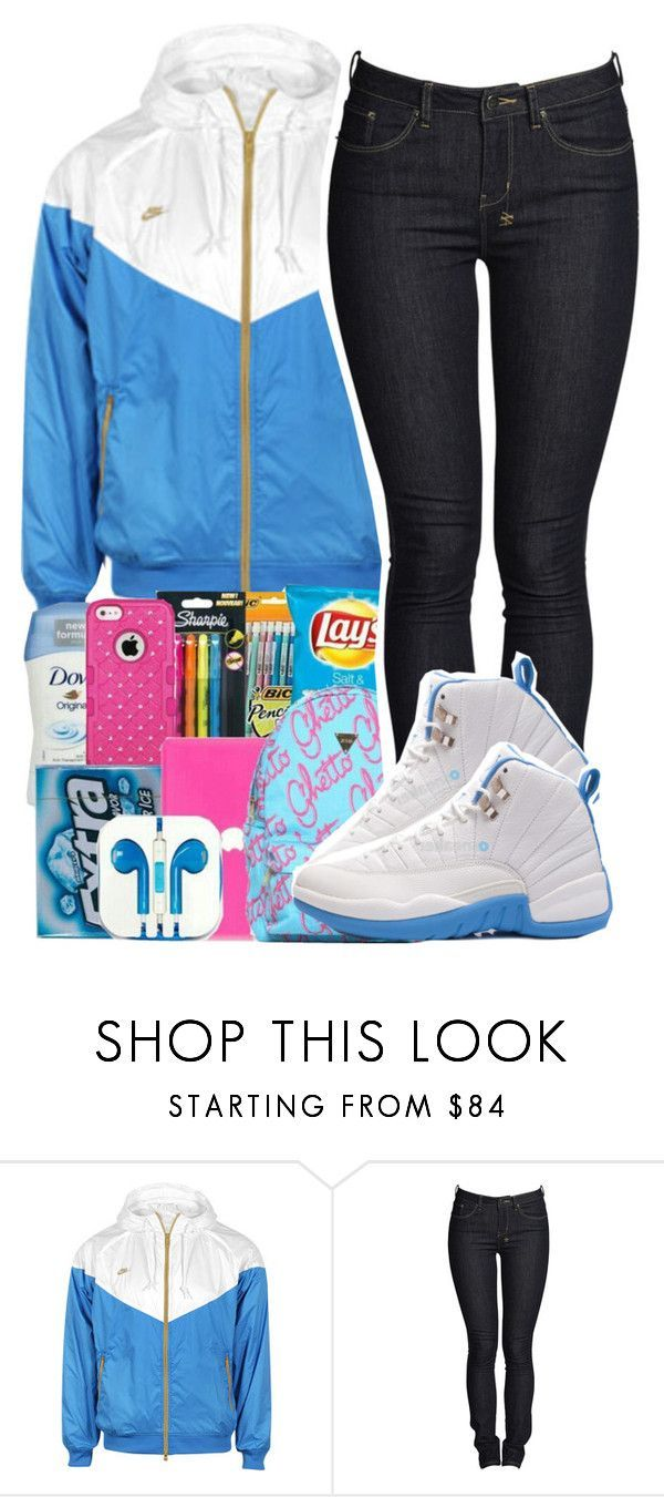"""4/19/2016"" by yeauxbriana ❤ liked on Polyvore featuring NIKE, Ksubi and Retrò"