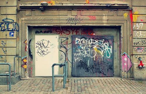 club door in Berlin
