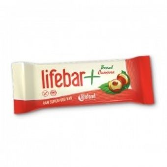 Lifebar Plus - RAW ENERGY BARS - flavour: Brazil Guarana