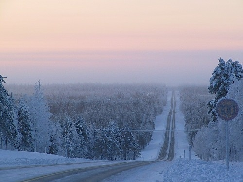 Kuusamo, Kainuu county, northeast of Finland