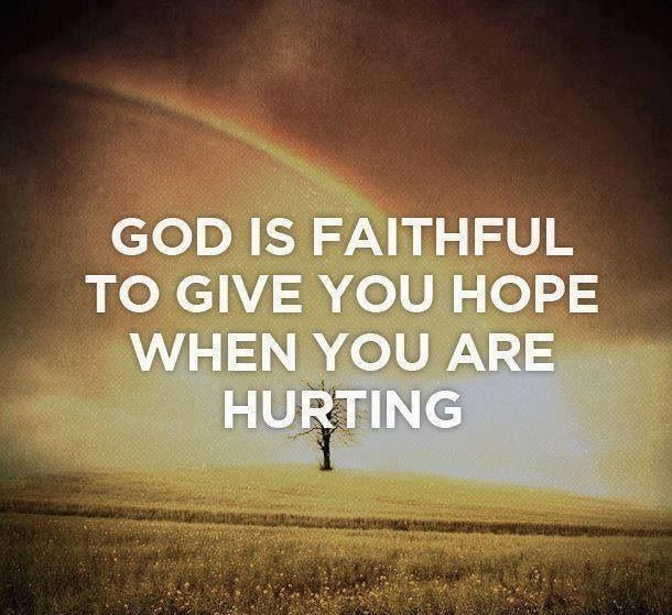 God is faithful | Godly Quotes and Heavenly Things | Pinterest