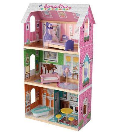 Kid craft, maison de poupées en bois. 179.99$ Disponible en boutique ou sur notre catalogue en ligne. Livraison rapide au Québec.  Achetez-le info@laboiteasurprisesdenicolas.ca