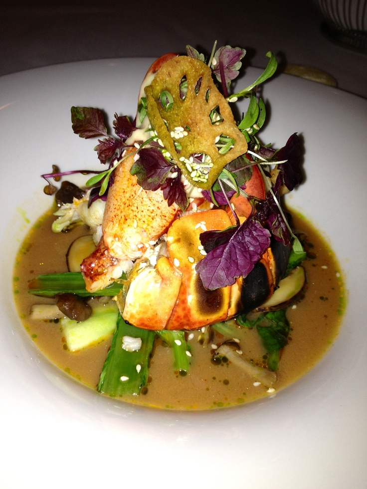 Incredible lobster at Scaramouche