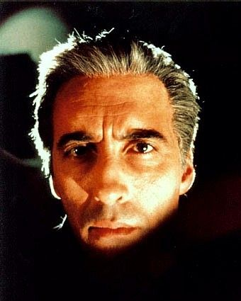 Christopher Lee, powerful and hypnotic, perfect Dracula. I love Hammer Horror.