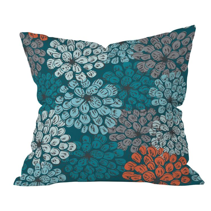 DENY Designs Khristian A Howell Greenwich Gardens Polyester Throw Pillow | AllModern