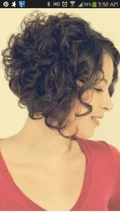 Best 20+ Curly stacked bobs ideas